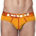 Lot de 2 Slips Microfusion Performance Orange - Rouge