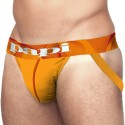 Lot de 2 Jock Straps Microfusion Performance Orange - Rouge