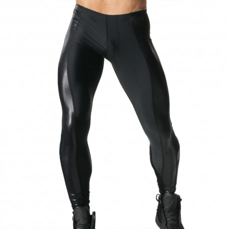 Pantalon Legging Shine Noir