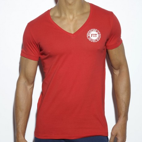 Never Back Down T-Shirt - Red