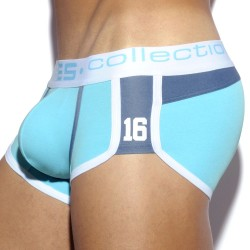 Shorty Jeans Pique Turquoise ES Collection