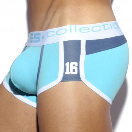 Jeans Pique Boxer - Turquoise