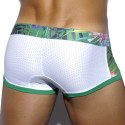 Boxer Tropical Mesh Blanc