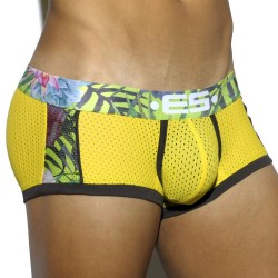 Boxer Tropical Mesh Jaune ES Collection