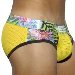 Slip Tropical Mesh Jaune ES Collection