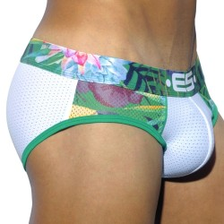 Slip Tropical Mesh Blanc ES Collection