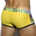 Tropical Mesh Boxer - Yellow