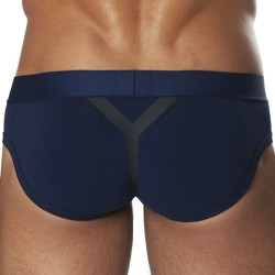 Gigolo Joe II Brief - Navy - Black D.Hedral
