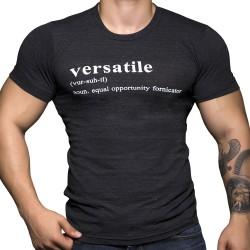 T-Shirt Versatile Noir Andrew Christian