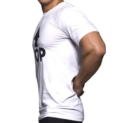 T-Shirt Top Blanc Andrew Christian