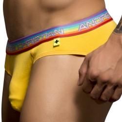 Slip Premium Pride Almost Naked Jaune Andrew Christian