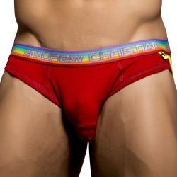 Slip Jock Premium Pride Almost Naked Rouge Andrew Christian
