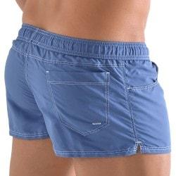Short de Bain Jeans Bleu Denim Roberto Lucca