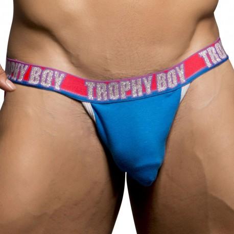 Trophy Boy Jock with Show-It - Electric Blue