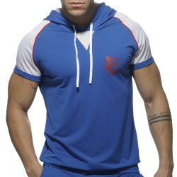 T-Shirt Hoody Jersey Light Royal Addicted
