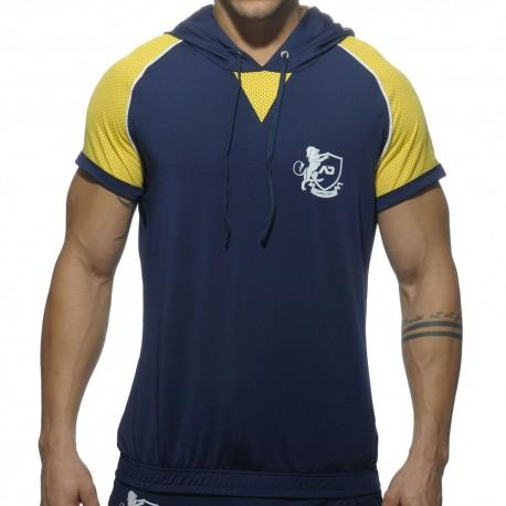 T-Shirt Hoody Jersey Light Marine