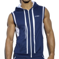 Veste Hoody Piping Marine ES Collection