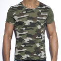 Geometric T-Shirt - Camouflage