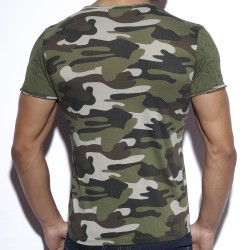 T-Shirt Geometric Camouflage ES Collection