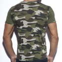 T-Shirt Geometric Camouflage