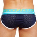 Rival Brief - Yellow - Navy