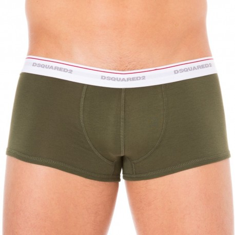2-Pack Jersey Cotton Stretch Boxers - Khaki