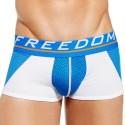 Varsity Boxer - White - Blue