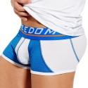 Varsity Boxer - Blue - White
