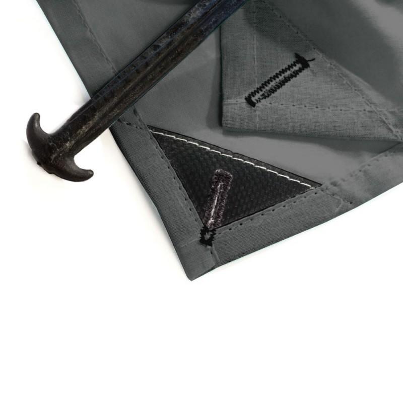 drap de plage solo new york gris baba. Black Bedroom Furniture Sets. Home Design Ideas
