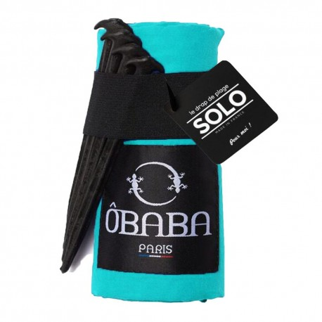 Solo Beach Towel - Moorea Turquoise