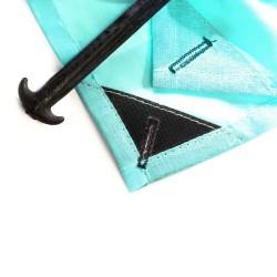Drap de plage XXL Moorea Turquoise ÔBABA