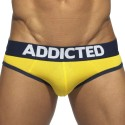 Slip Empty Bottom Basic Colors Jaune - Marine