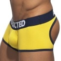 Shorty Empty Bottom Basic Colors Jaune - Marine