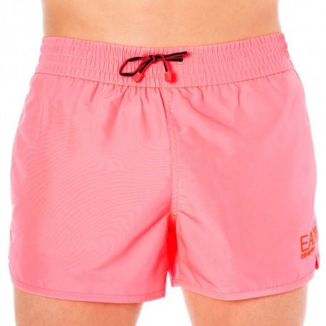 EA7 Sea World Bright Swim Short - Neon Pink