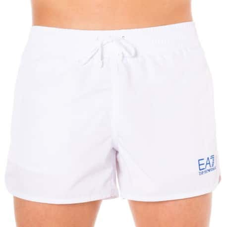 EA7 Sea World Core Swim Short - White