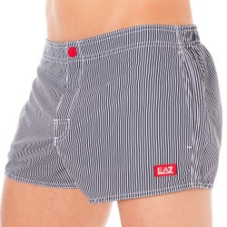 Short de Bain EA7 Sea World Stripes Marine Emporio Armani