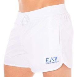 Short de Bain EA7 Sea World Core Blanc Emporio Armani