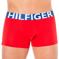Boxer HILFIGER Color Block Rouge Tommy Hilfiger