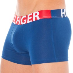 Boxer HILFIGER Color Block Bleu Tommy Hilfiger