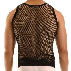C-Through Tank Top - Black Modus Vivendi