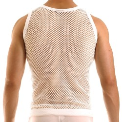 C-Through Tank Top - White Modus Vivendi