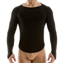 T-Shirt Longsleeve Noir Modus Vivendi