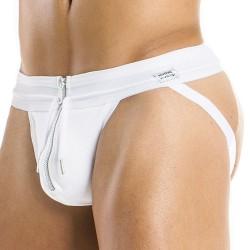 Zipper Jockstrap - White Modus Vivendi