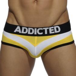 Slip Arrow Jaune Addicted