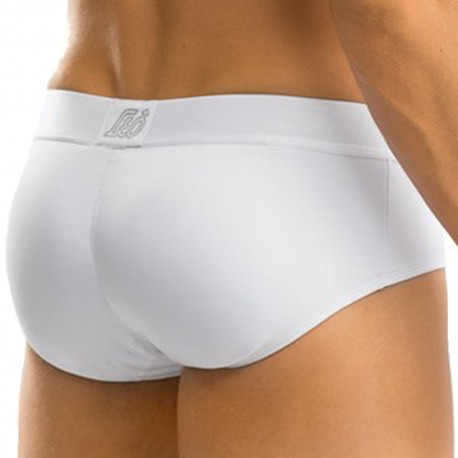 Padded Butt Enhancer Brief - White
