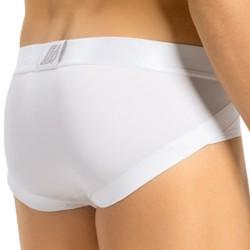 Slip Remonte-Fesses Blanc LEO