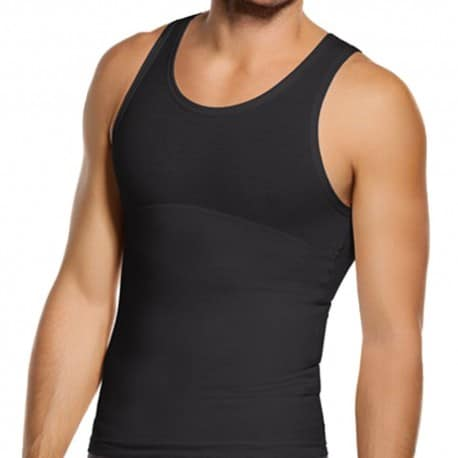 Extra Firm Control Tank - Black