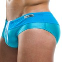 Contrast Swim Brief - Turquoise