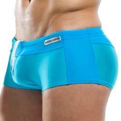 Shorty de Bain Contrast Turquoise Modus Vivendi