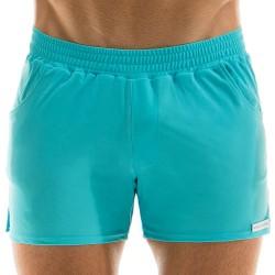 Short de Bain Neon Turquoise Modus Vivendi